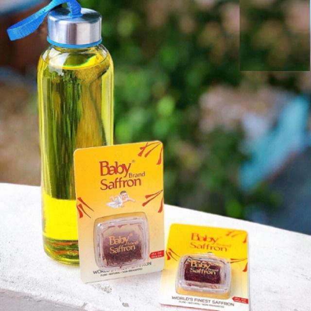 Combo 2G BABY SAFFRON CAO CẤP LOẠI 1 Nhuỵ Hoa Nghệ Tây - Baby Saffron Ấn Độ - Tặng 50Mg cùng loại