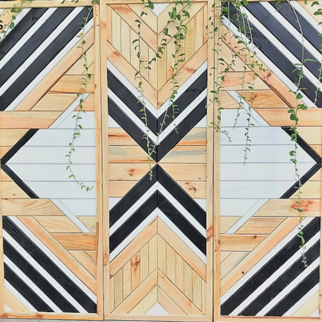 Set Tranh Khảm Gỗ Lớn - Bức Bình Phong Mosaic