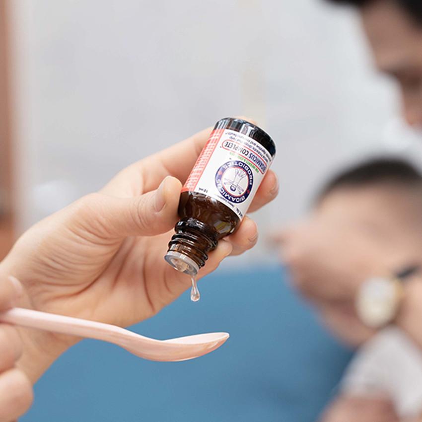 3 lọ Men vi sinh 10 chủng BioAmicus Complete tặng 1 lọ BioAmicus Vitamin D3 cho bé