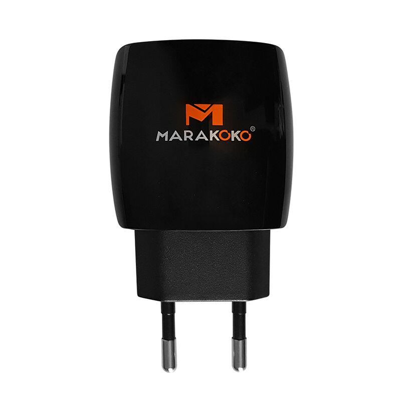 Củ sạc Marakoko MA1 2 cổng sạc nhanh Smart ID