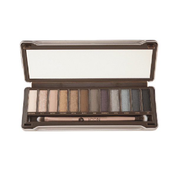 Phấn Mắt Absolute Newyork Icon Eye Shadow Palette Smoked AIEP02 (8g)
