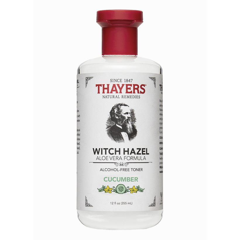 Nước hoa hồng không cồn hương dưa leo THAYERS Alcohol-Free Cucumber Witch Hazel Toner 355ml (Dành cho da nhờn và da mụn)