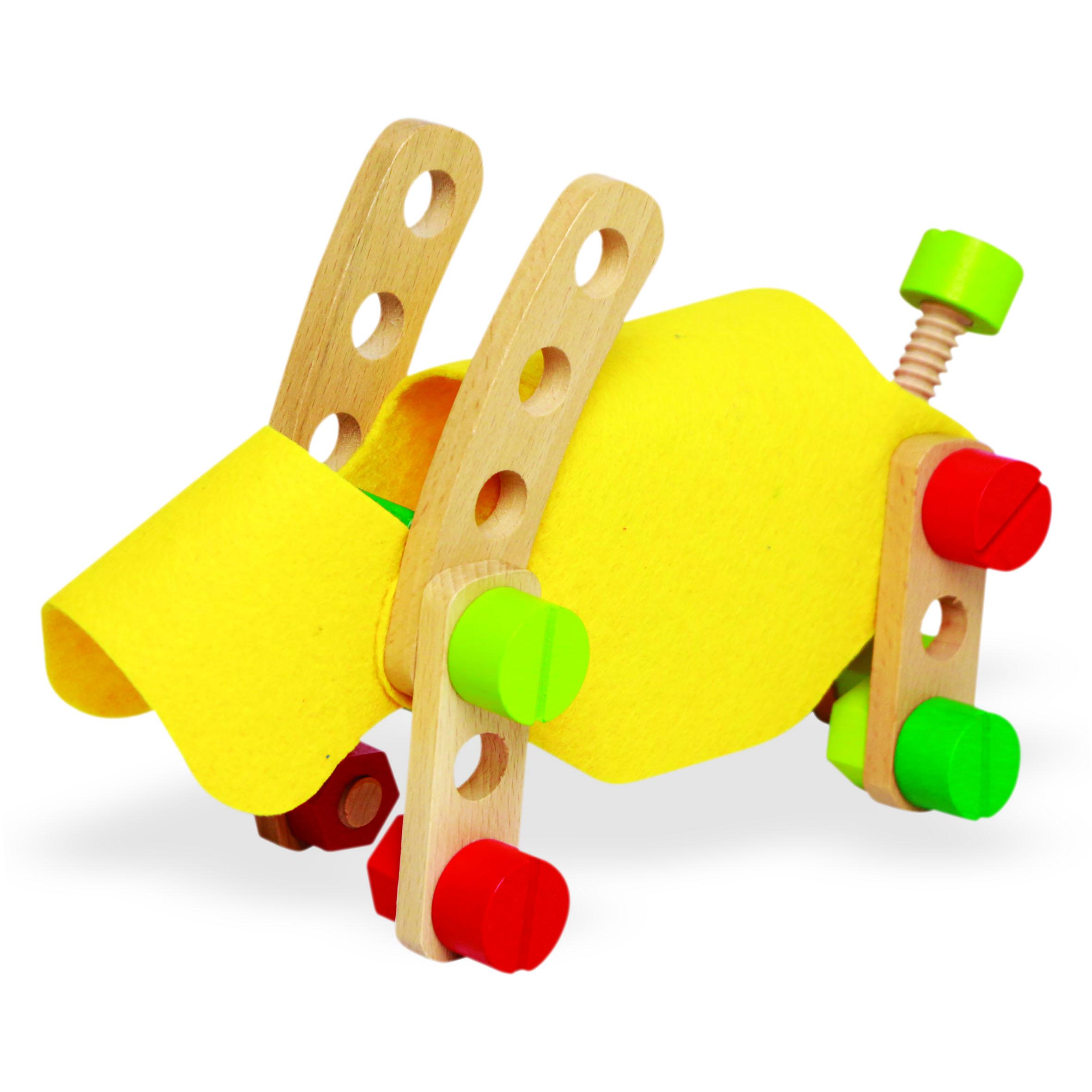 Bộ đồ chơi Lắp Ráp Kỹ Thuật Woody