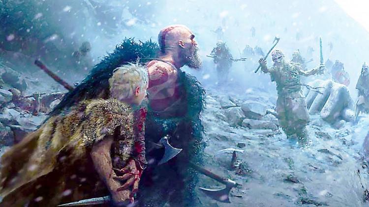 Đĩa game Ps4 God Of War 4 Hệ Asia - Hàng Chính hãng 4