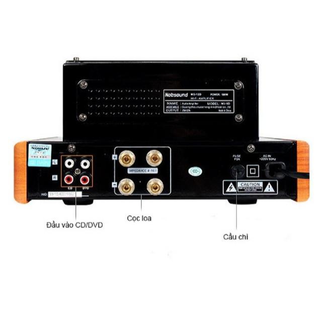 Bộ Amplifier Đèn Mini Nobsound MS-10D Cao Cấp - Hàng Chính Hãng