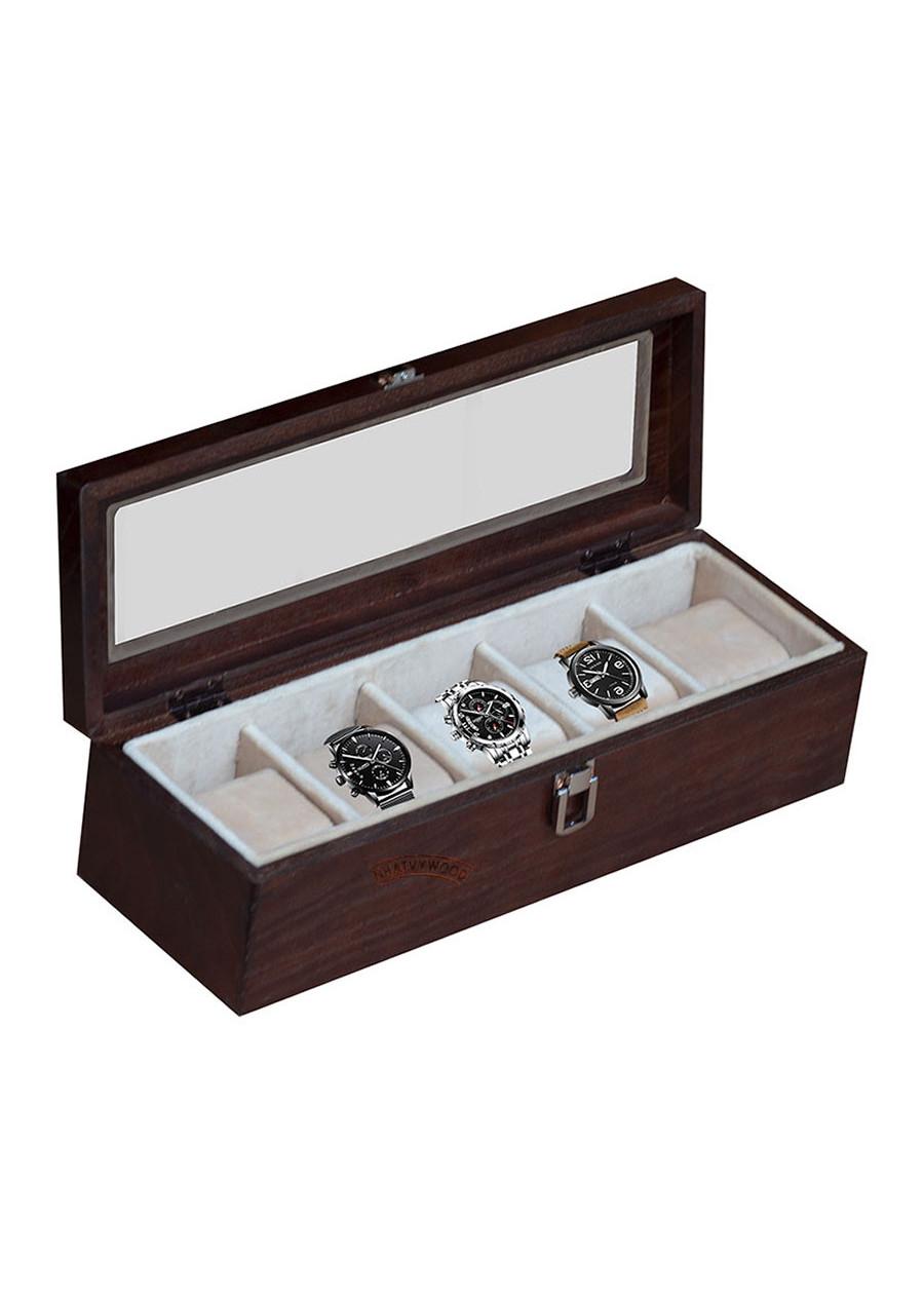Hộp đựng đồng hồ 5 ngăn Nhatvywood WB501