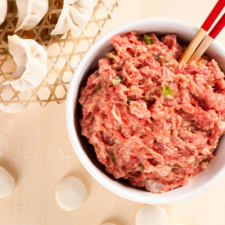 Máy xay thịt xay rau củ đa năng 2 tầng lưỡi dao cối thủy tinh - Hàng chính hãng