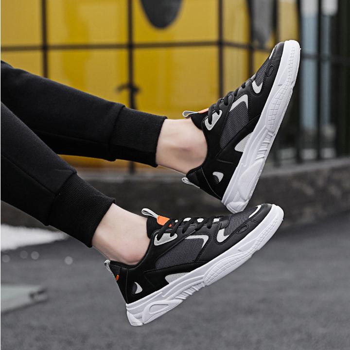 Giày snacker thể thao nam phối màu
