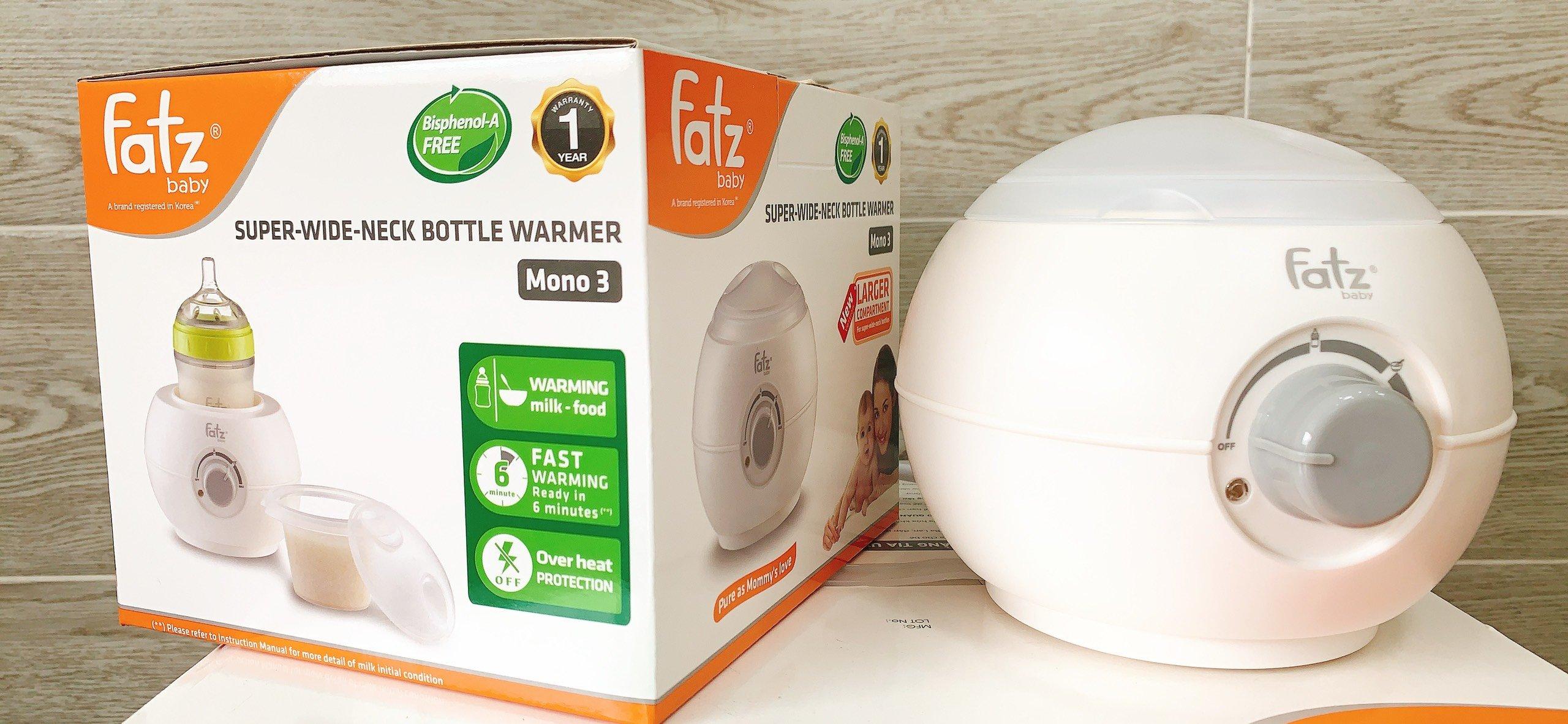 Máy hâm sữa bình cổ siêu rộng FB3027SL tặng đồ chơi Toys House (ngẫu nhiên)