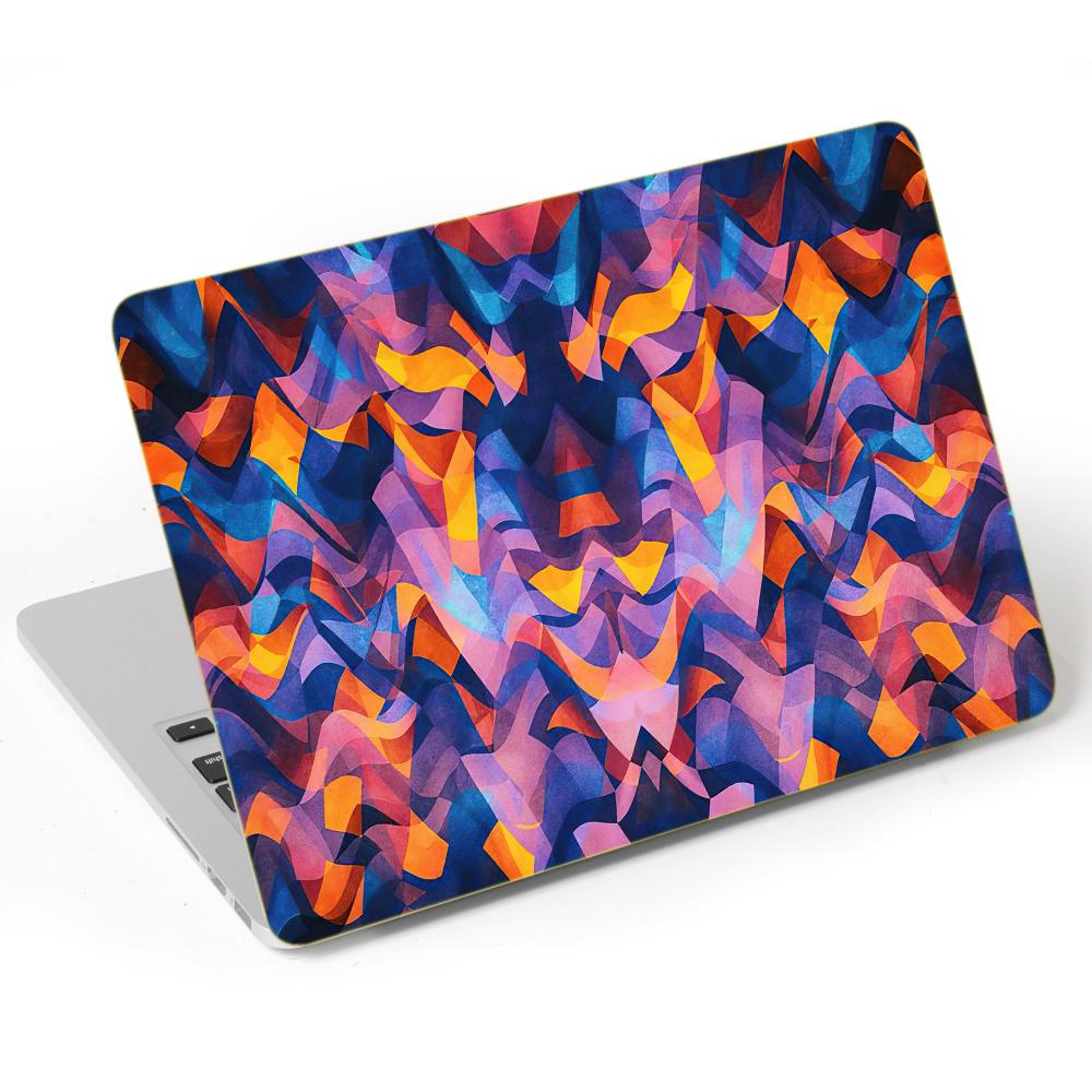 Mẫu Dán Trang Trí Mặt Ngoài + Lót Tay Laptop Laptop Hoa Văn LTHV - 409