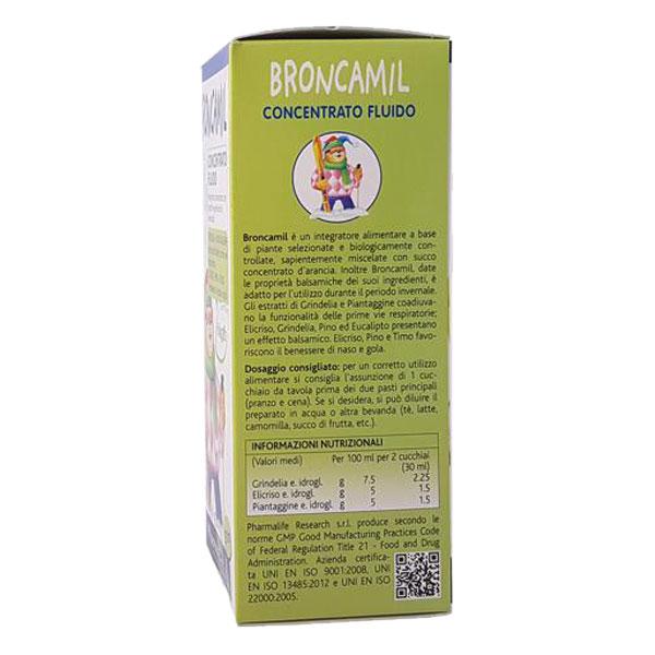 Thực Phẩm Chức Năng Thảo Dược Trị Ho Cao Cấp 3 Trong 1 Broncamil Bimbi (200ml)