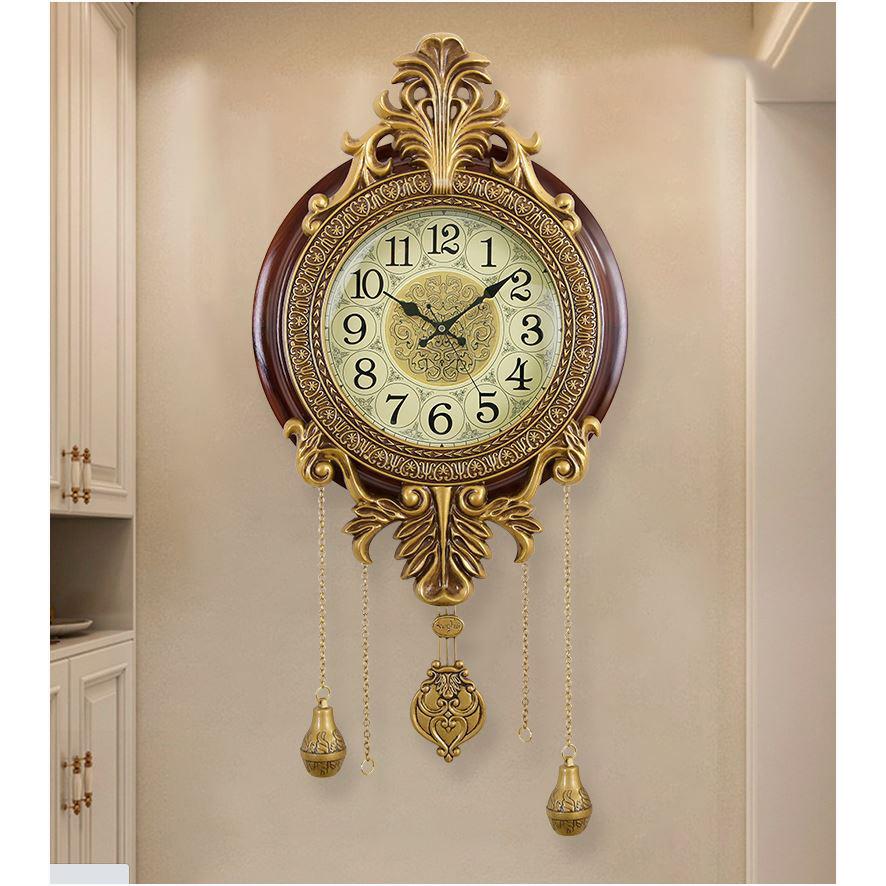 Đồng hồ treo tường tân cổ điển có quả lắc DH11