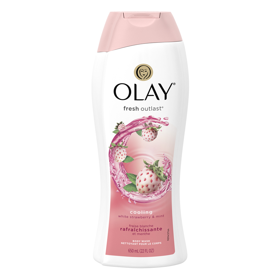 Sữa tắm Olay Strawberry & Mint 650ml