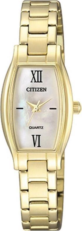 Đồng Hồ Citizen Nữ Dây Kim Loại Pin-Quartz EJ6112-52D - Mặt Xà Cừ (19x32mm)