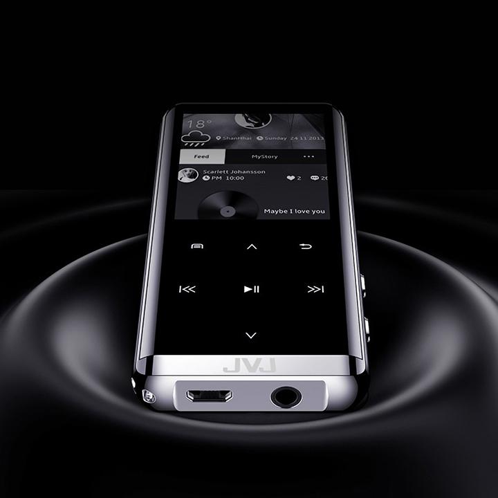 Máy nghe nhạc chính hãng JVJ Cube New (Cảm ứng, Pin 30h, Hi-fi, Lossless, Màn LCD)