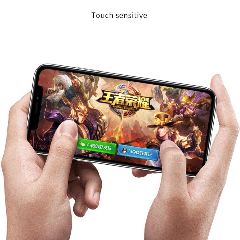 Miếng dán Kính Cường Lực full 3D cho iPhone XS MAX / iPhone 11 Pro Max Nillkin XD CP+Max - Hàng Chính Hãng