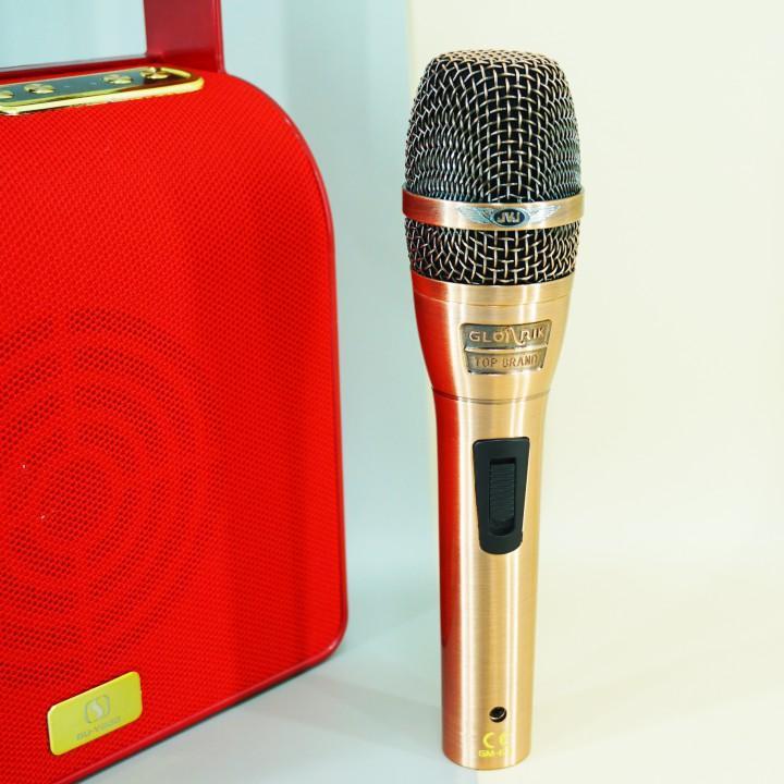 Micro karaoke có dây JVJ GM-6.3  dài 4m Cho Âm Ly, Loa Kéo , Loa Karaoke Bluetooth Jack 6.5 -Hàng chính hãng