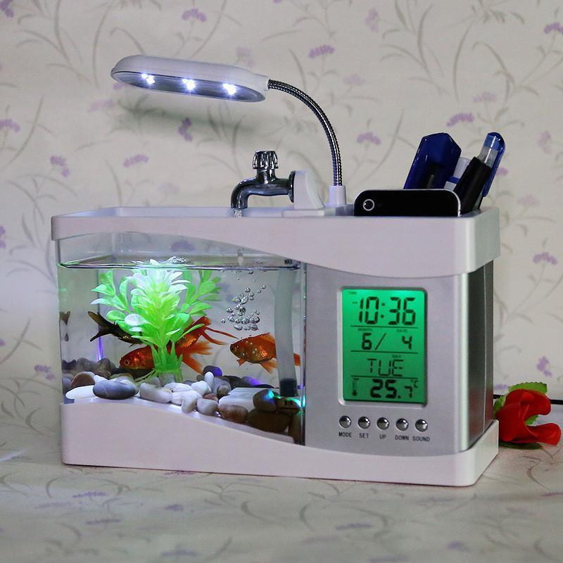 Bể cá phong thủy- tặng ngay một cá điện tử