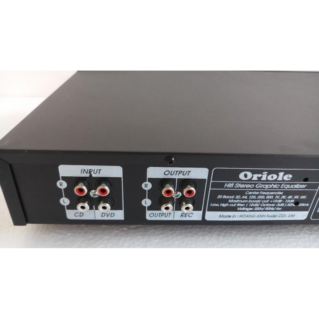 Lọc âm Equalizer Oriole EQ9000, hàng chính hãng