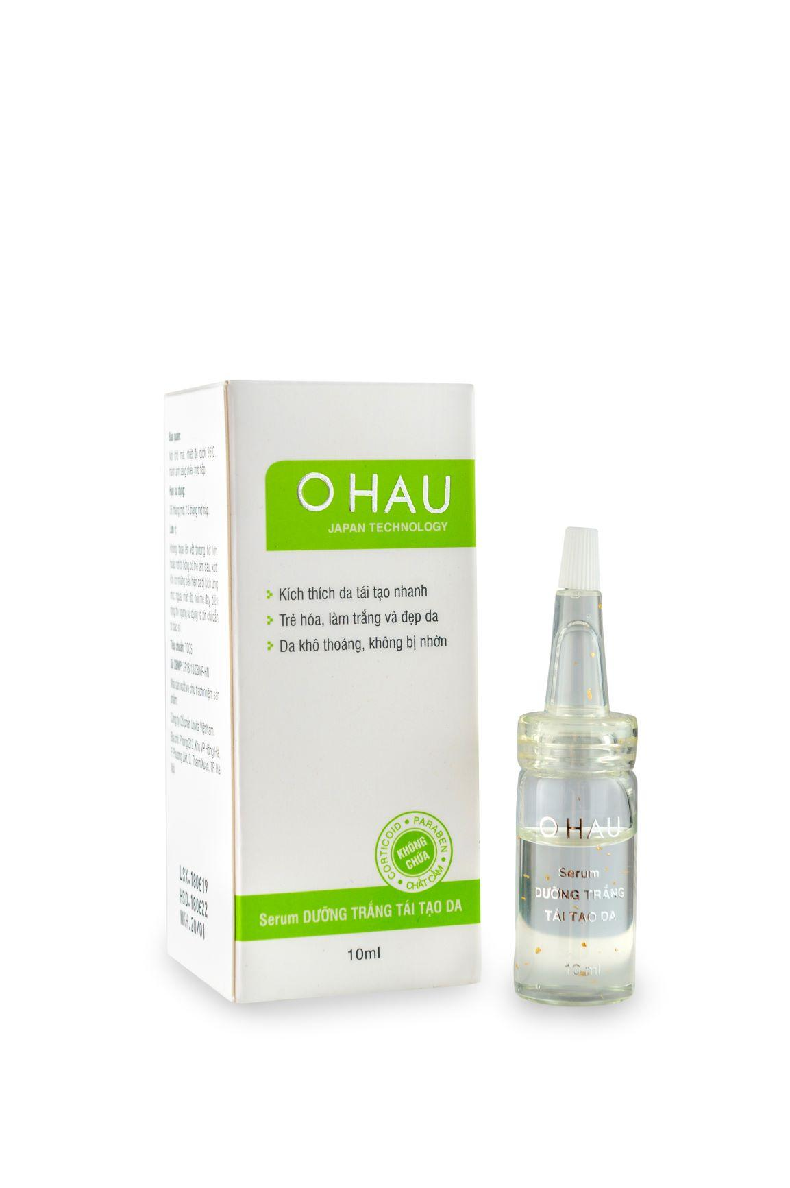 Serum dưỡng trắng tái tạo da OHAU