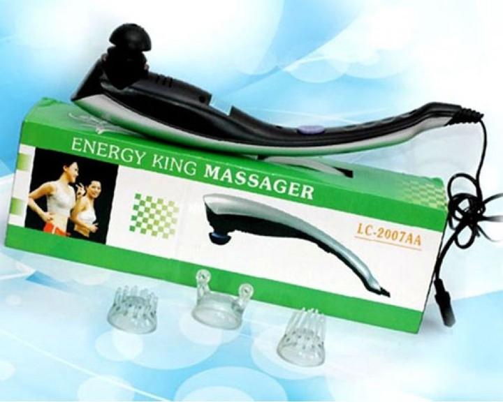 Máy đấm lưng massage cầm tay King Massage 3 đầu A-2007