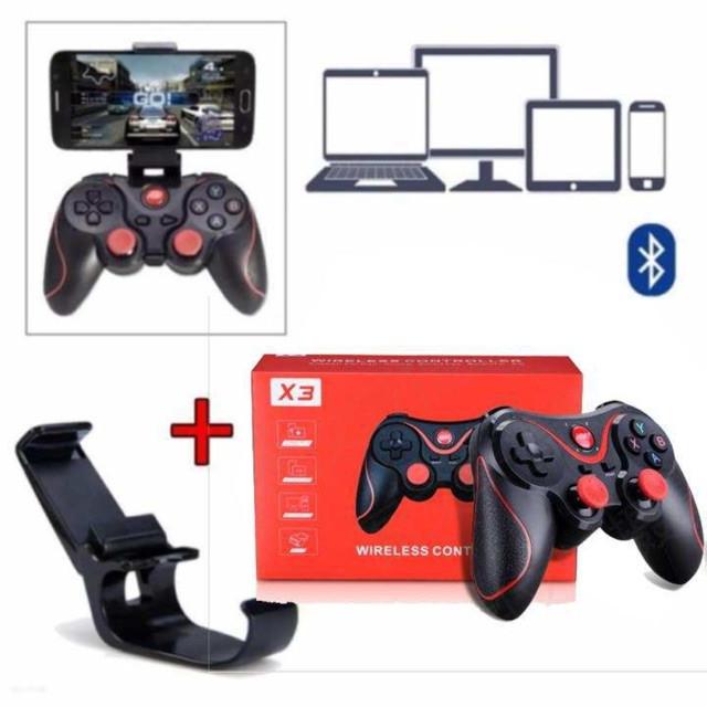Bộ tay cầm chơi game X3 kèm giá đỡ điện thoại X3