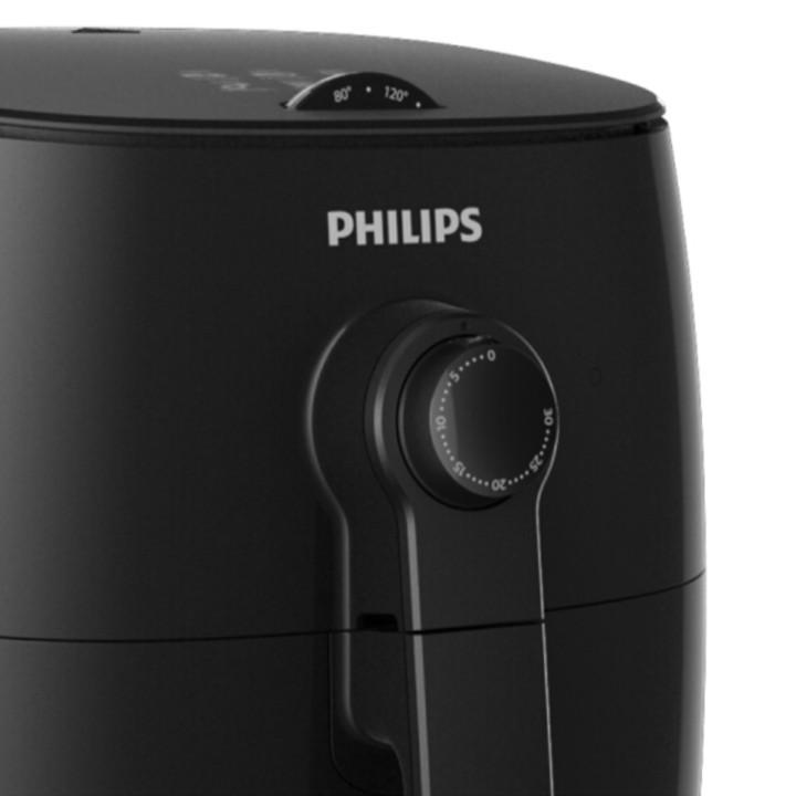 Nồi chiên không dầu Philips HD9621/91 dung tích 3 lít công suất tối đa 1300W - Hàng Nhập Khẩu