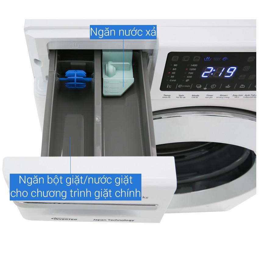 Máy giặt Panasonic Inverter 9 Kg NA-V90FG1WVT - HÀNG CHÍNH HÃNG