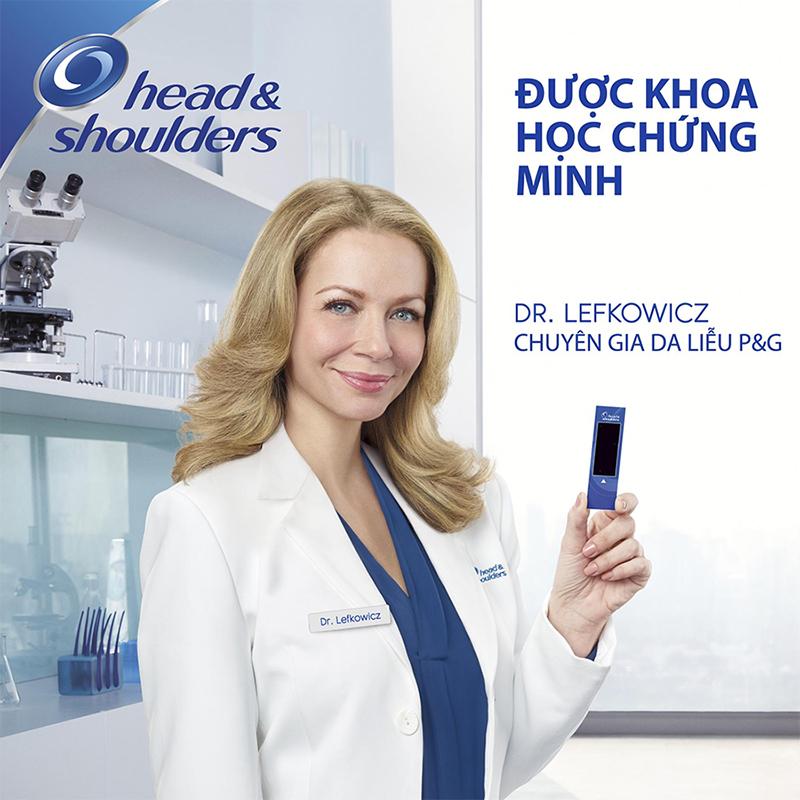 1 Thùng Dầu Gội Head & Shoulder Bạc Hà Mát Lạnh 1200ML (6 Chai)