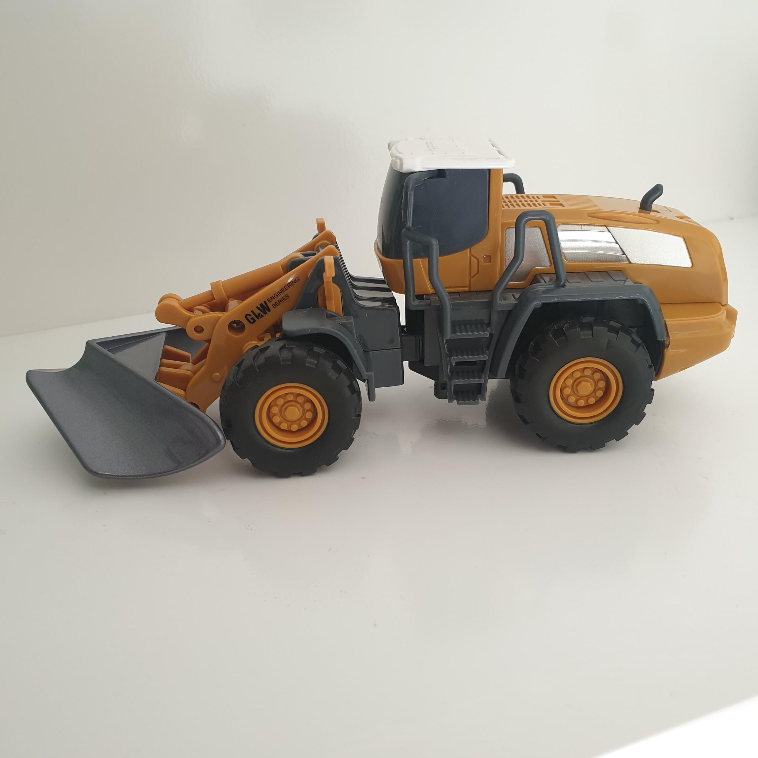 Đồ chơi mô hình xe lu KAVY NO.8810 chất liệu nhựa hợp kim và nhựa nguyên sinh an toàn chi tiết sắc sảo