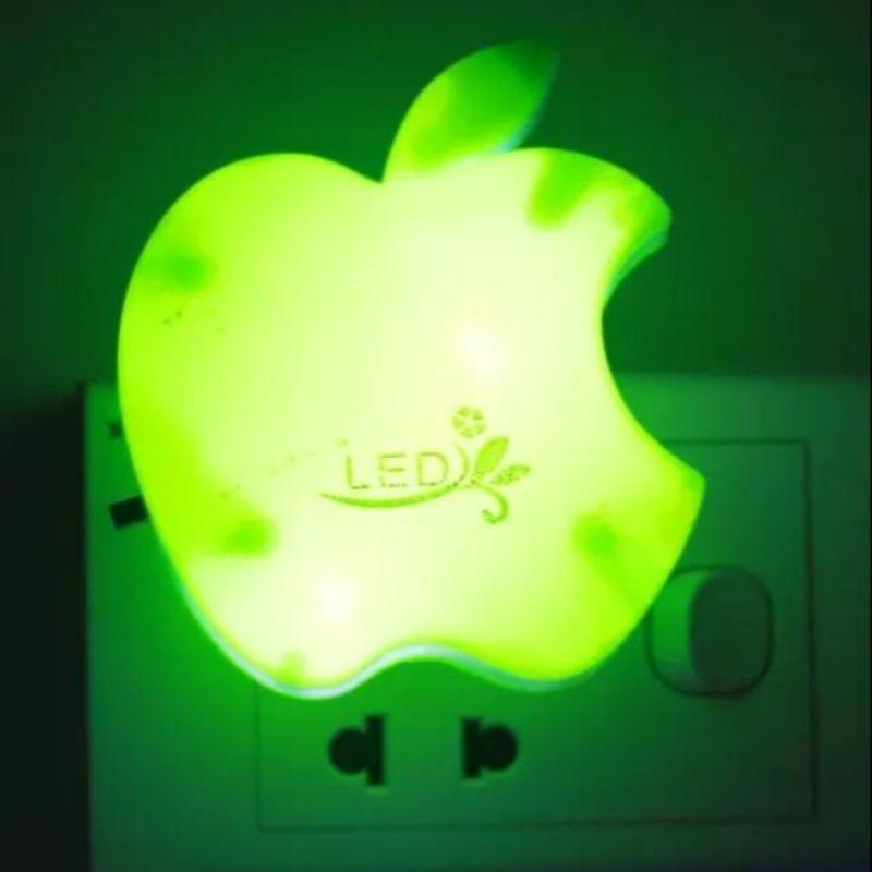 đèn ngủ quả táo có công tắc