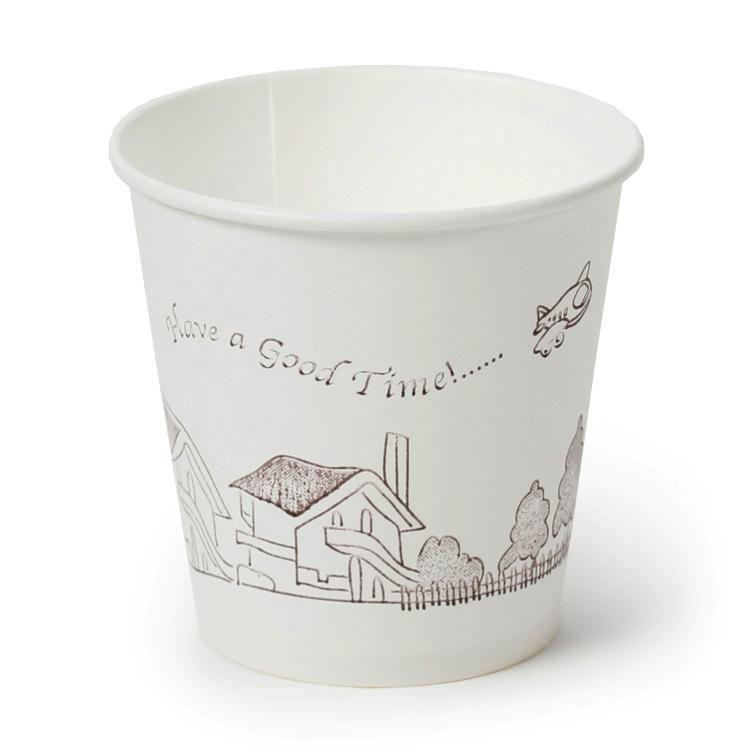 Bộ 50 cốc giấy JONG YI cao cấp Hàn Quốc (Asobu - 190ml) (일회용종이컵)