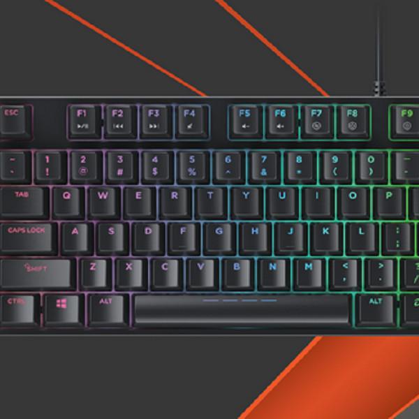 Bàn phím cơ DareU EK880 RGB Brown Switch - Hàng chính hãng