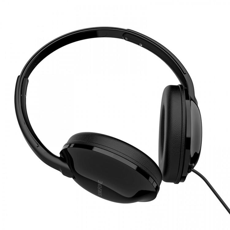 borofone bo1 enjoybass in line control wired headphones