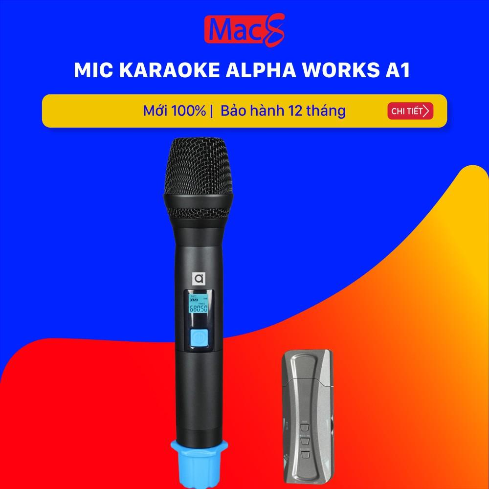 Mic hát Karaoke Alphaworks A1 PGI (Alpha Work) Micro a1-Hàng chính hãng
