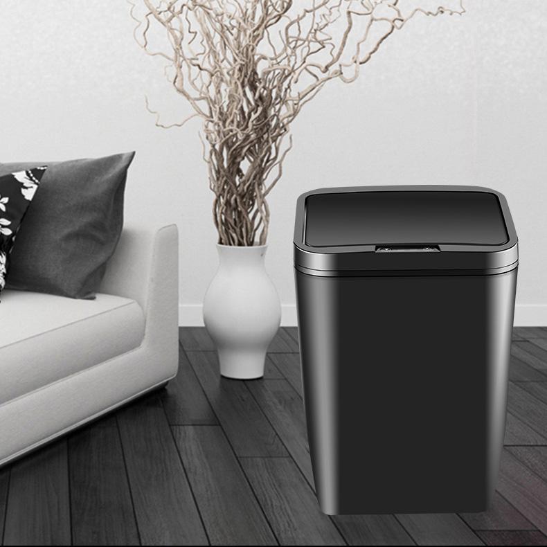 Thùng đựng rác cảm biến tự đóng mở cao cấp TORSOM TZL-12 sang trọng sạch sẽ tiện dụng