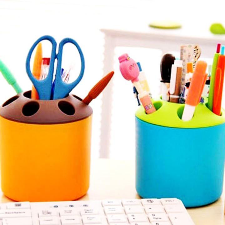 Cốc để bàn chải và kem đánh răng đa năng – hộp nhiều lỗ đựng bútF230SP2