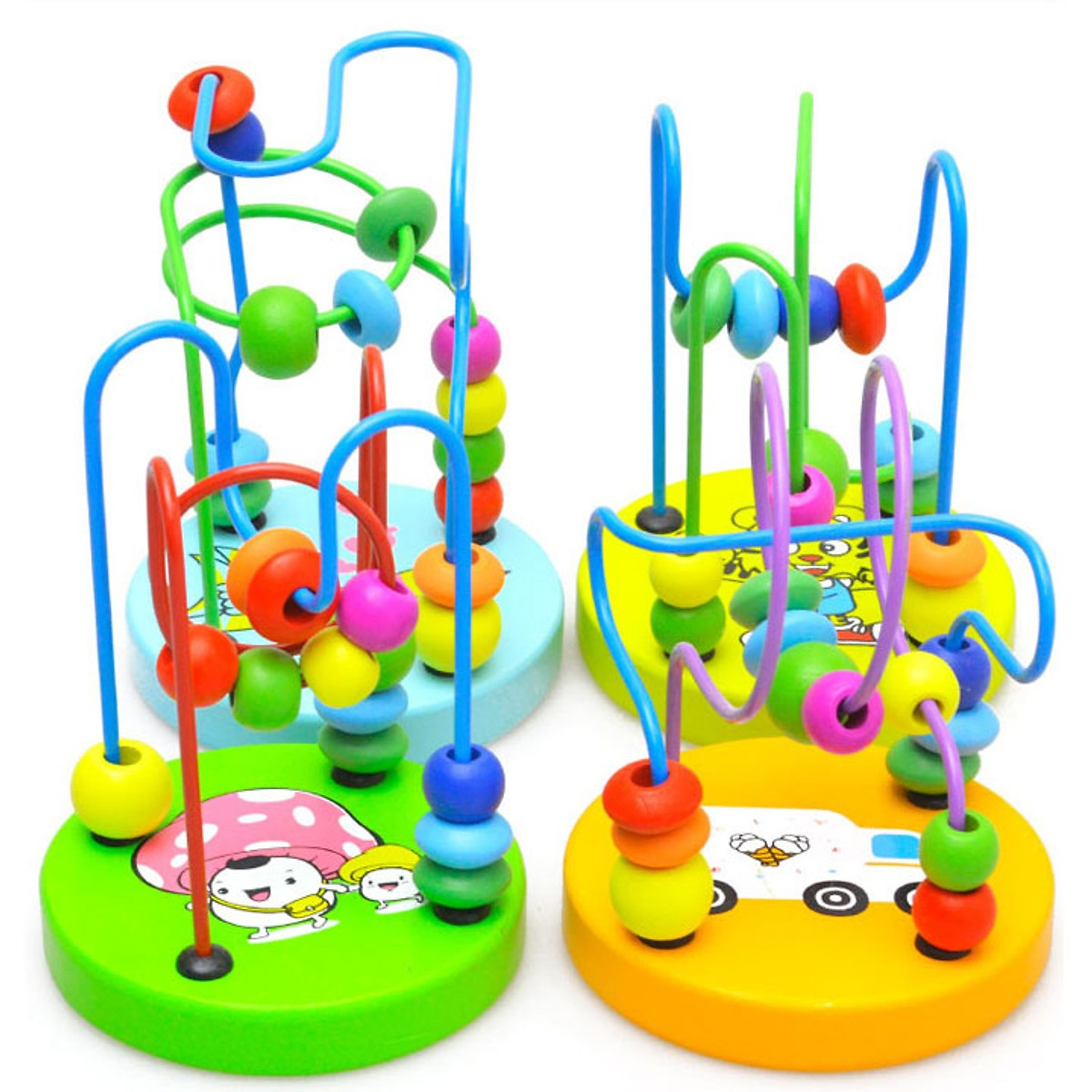 Combo 7 món đồ chơi cho bé phát triển trí tuệ