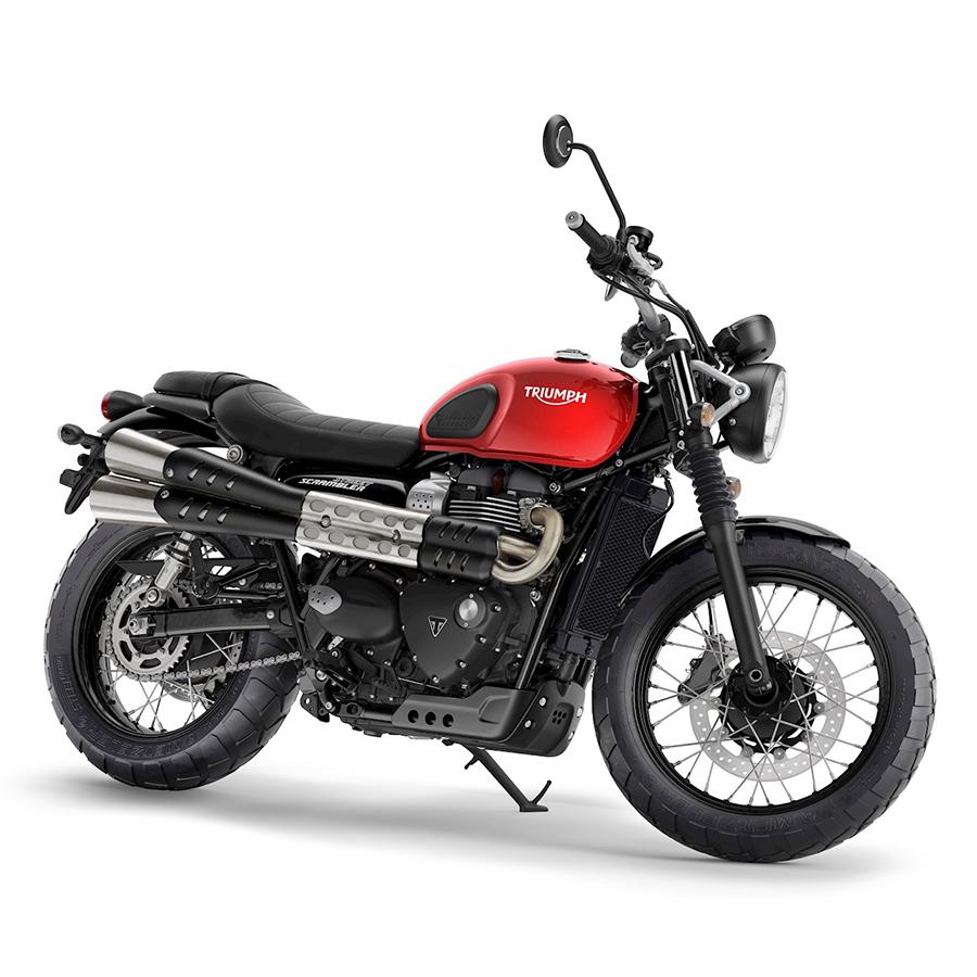 Xe Môtô Triumph Street Scrambler 900 - Đỏ Đô