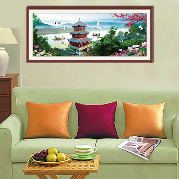 Tranh Phong Thủy Nghệ Thuật Q12K-ZTH(89)