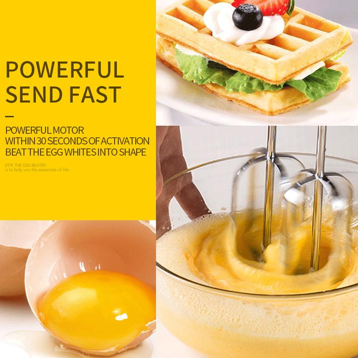 Máy đánh trứng và làm bánh cầm tay cao cấp nhãn hiệu DSP KM2068 công suất 250W tích hợp 5 tốc độ - Hàng Nhập Khẩu