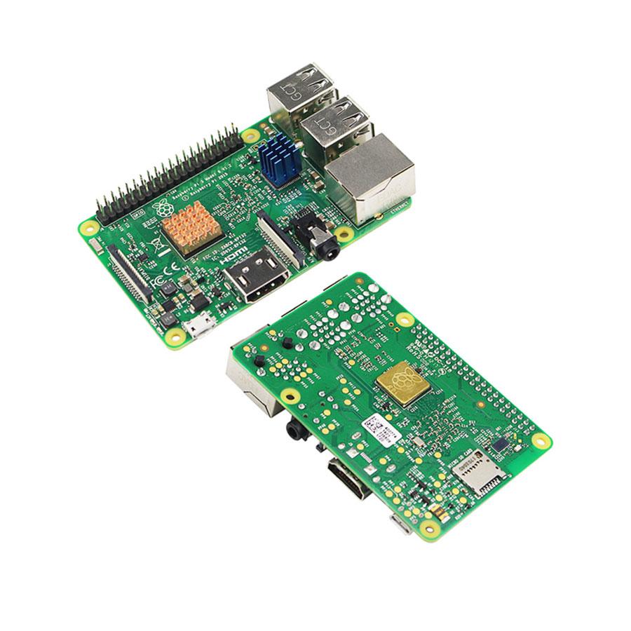 Bộ 3 Tấm Tản Nhiệt Cho Máy Tính Raspberry Pi V1