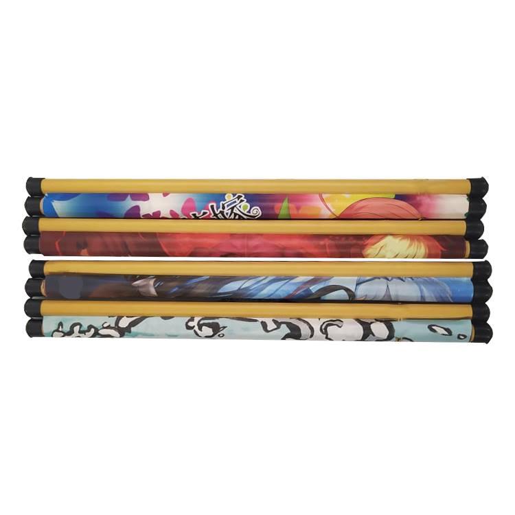 Tranh treo vải 40x60cm hình Anime Hypnosis Microphone dùng trang trí tường, decor phòng ngủ, phòng học
