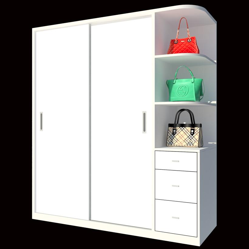 Tủ Áo Cửa Lùa FT190 (180cm x 200cm)