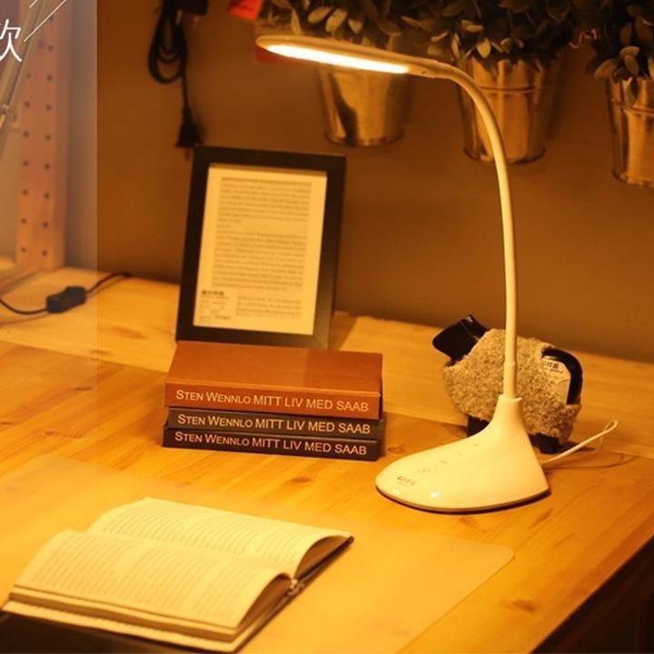 Đèn bàn chống cận đổi màu ánh sáng Kamisafe S052