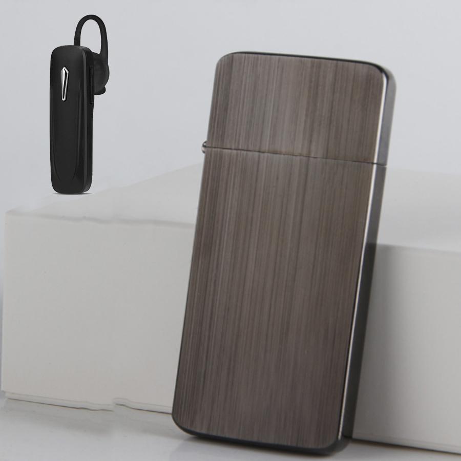 Combo Hộp Quẹt Bật Lửa Xăng Đá KZC5 Siêu Mỏng + Tặng Tai Nghe Bluetooth Cao Cấp