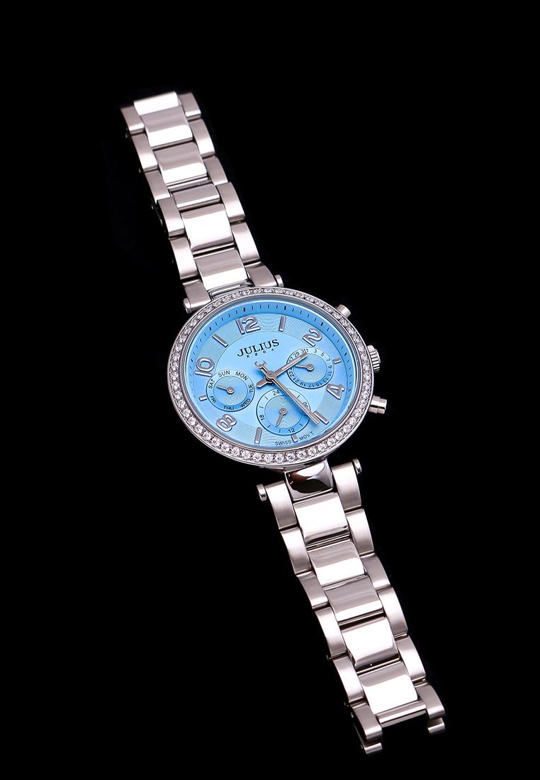Đồng hồ Nữ Julius Hàn Quốc Ju1208 Mặt xanh