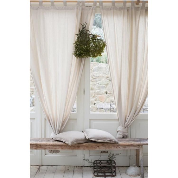 1 rèm vải canvas màn rèm cửa trang tri XT01