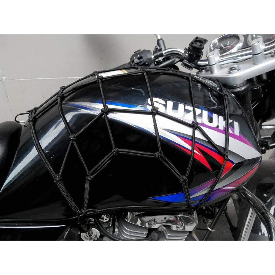 Lưới chằng đồ, bình xăng xe máy, moto, xe đạp ( Loại tốt )