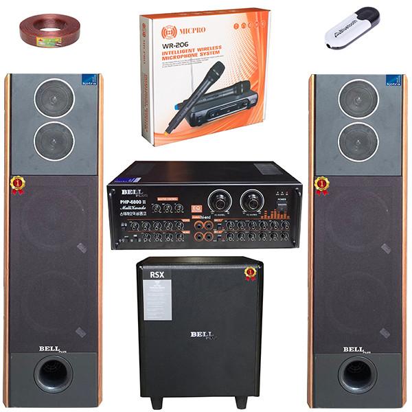 Bộ dàn nhạc karaoke KLP - 6800 II BellPlus (hàng chính hãng)